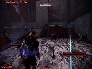 Mass Effect 2 : Passagen, die in der Sonne liegen, sollten Sie immer im Sprint überwinden.