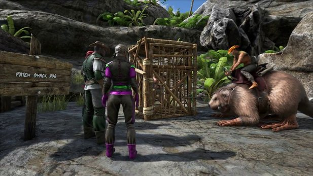 Ark: Survival Evolved - Trailer stellt den Castoroides vor