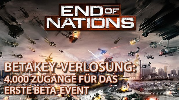 GameStar verlost 4.000 Betakeys für End of Nations.