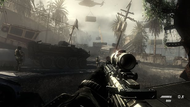 Call of Duty: Ghosts klettert in den Charts erwartungsgemäß hoch.