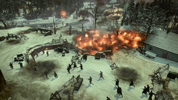 Mal kein DLC: Ardennes Assault ist ein Standalone-Add-On für Company of Heroes 2.