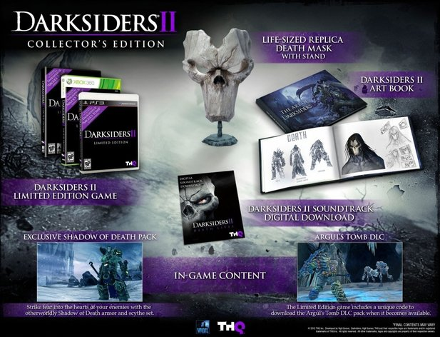 Die Collector's-Edition von Darksiders 2.
