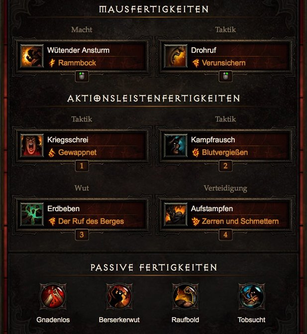 Diablo 3 Patch 2.4.1 Starter Build »Raekor« für den Barbar