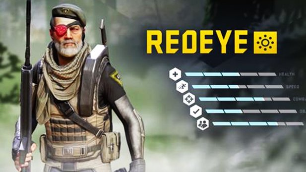 Dirty Bomb - Trailer zum Söldner »Redeye«