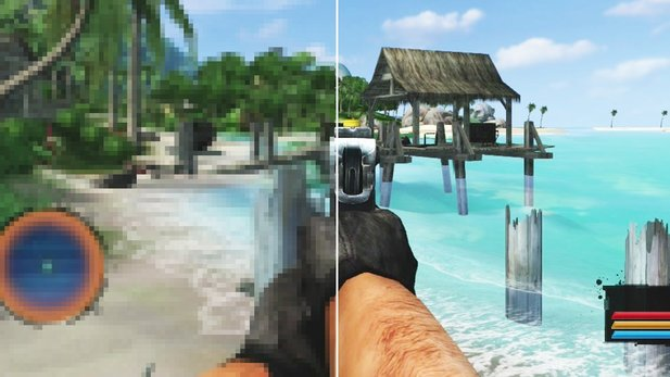 Far Cry vs. Far Cry Classic - Grafik-Vergleich: PC-Version gegen PS3 / Xbox-360-Neuauflage