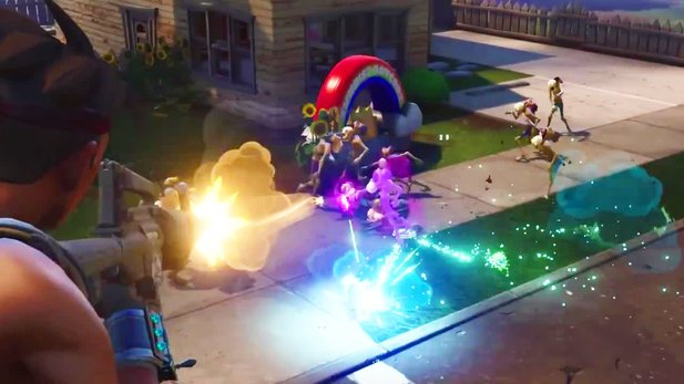 Fortnite - Gameplay-Trailer des Team-Shooters