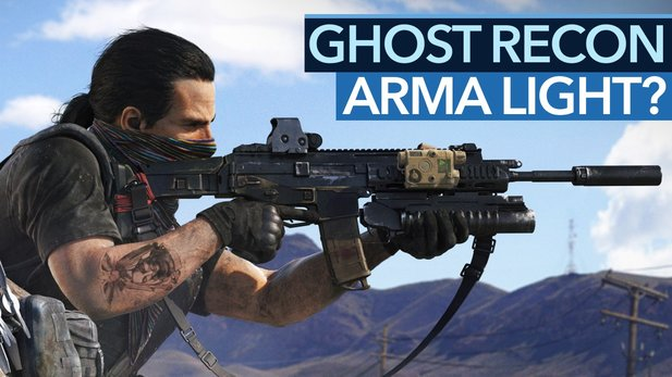 Ghost Recon: Wildlands - Video: Was fehlt zum ARMA Light?