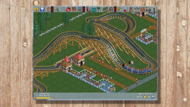 Rollercoaster Tycoon - Hall-of-Fame-Video