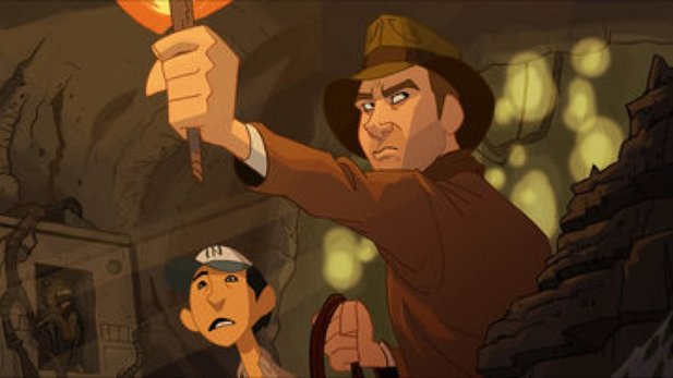 Indy-Fan macht Intro zur animierten Serie The Adventures of Indiana Jones, die nie fertig wurde.