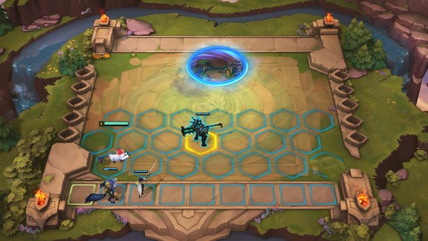 In every round, the game chooses an opponent for you. Here and there, fight Minion, who rewards you with the items.