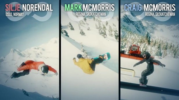 Mark McMorris Infinite Air - Gameplay-Trailer des neuen Snowboardspiels