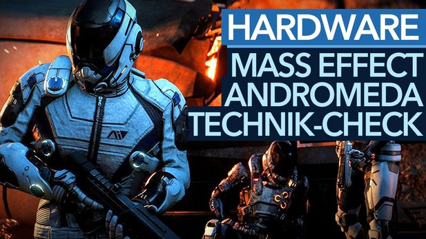 Mass Effect: Andromeda im Technik-Check - Grafikmenü, Hardwareanforderungen und Benchmarks