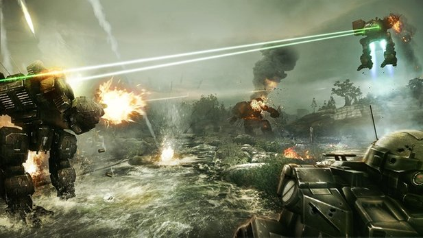 MechWarrior Online - Test-Video zur Free2Play-Mech-Simulation