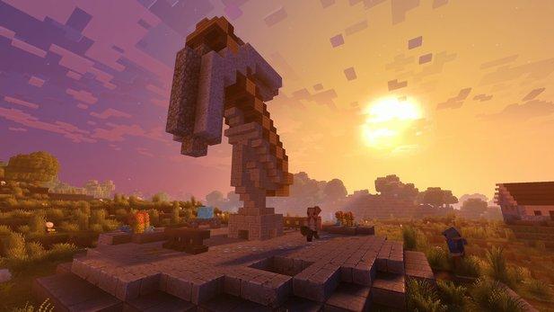 Minecraft: Mojang bewirbt Grafik-Update mit kurzem Musical