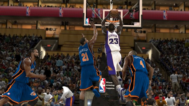NBA 2k11: Quentin Richardson, mittlerweile im Dress der Orlando Magic.