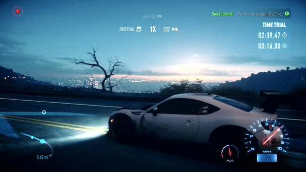 Need for Speed mit Tageslicht: Bequemer denn je dank Cinematic Tools.