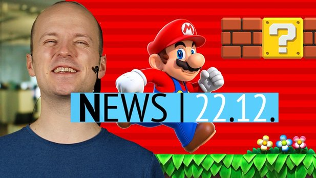 Newsvideo: Super Mario Run 40 Millionen Mal installiert - Updates zu RimWorld, War Thunder, Prison Architect und Co.