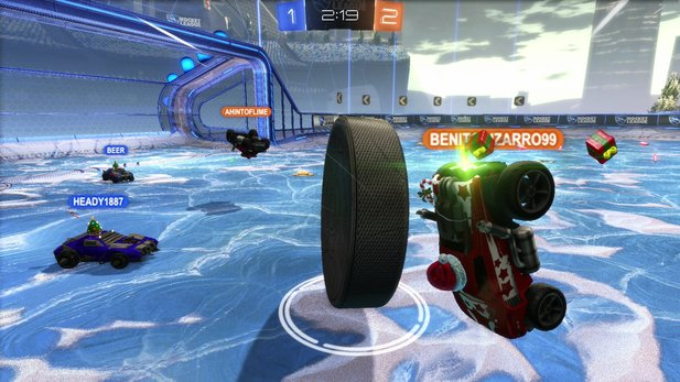 Bald gibt es wohl wieder Ice Hockey in Rocket League.