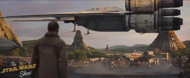 So sieht das Raumschiff der Rebellen in Star Wars: Rogue One aus: The U-Wing Fighter.