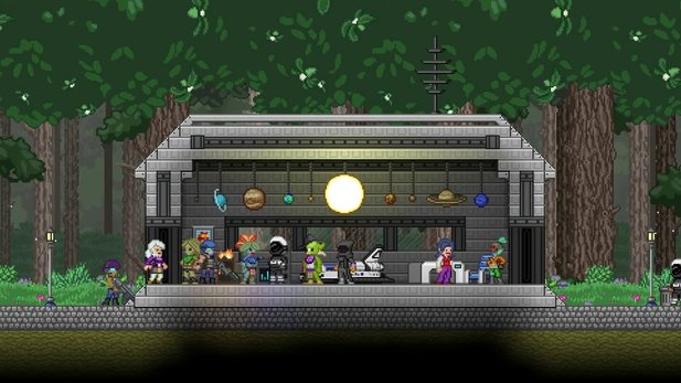 Starbound - Trailer-Video zum Colony-Update für Starbound veröffentlicht