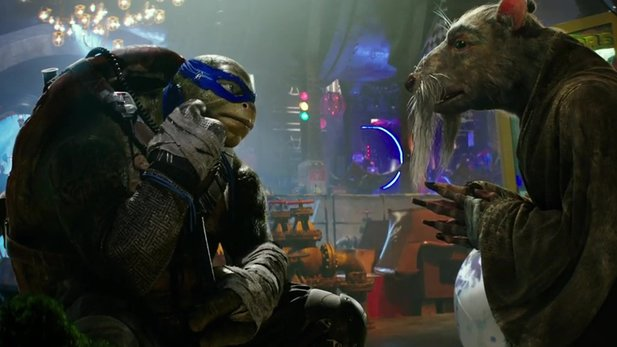 Teenage Mutant Ninja Turtles: Out of the Shadows - Neuer Kino-Trailer mit Meister Splinter