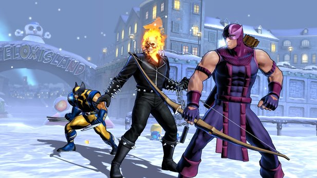 Ultimate Marvel vs. Capcom 3 - Character-Roster-Trailer zum Beat 'em Up