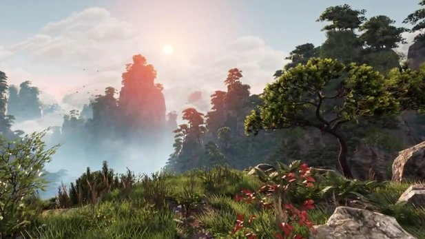 Unreal Engine 4 - Echtzeit-Techdemo: Huangshan Mountains