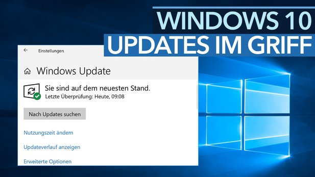 Updates Under Windows 10 - More Control Tips