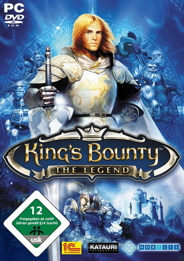 Cover zu King's Bounty: The Legend