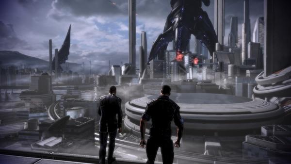Mass Effect 3 : Hätte die Erde doch nur auf die Warnungen von Shepard gehört.