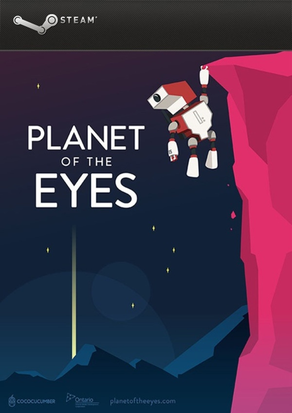 Cover zu Planet of the Eyes