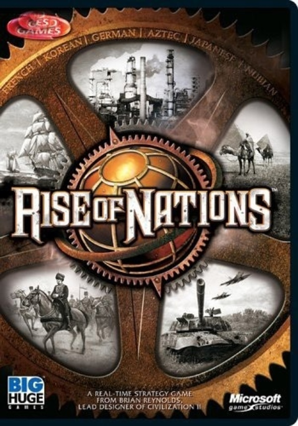 Cover zu Rise of Nations