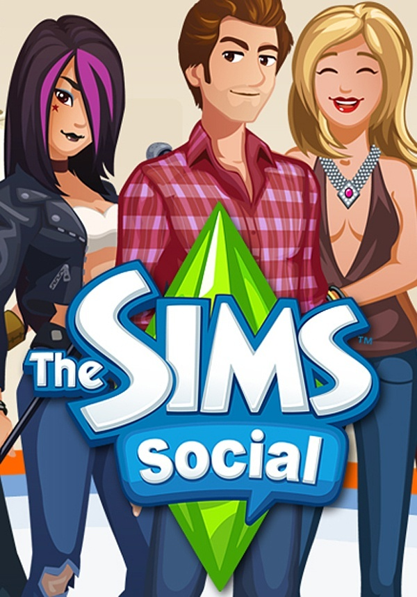 Cover zu The Sims Social