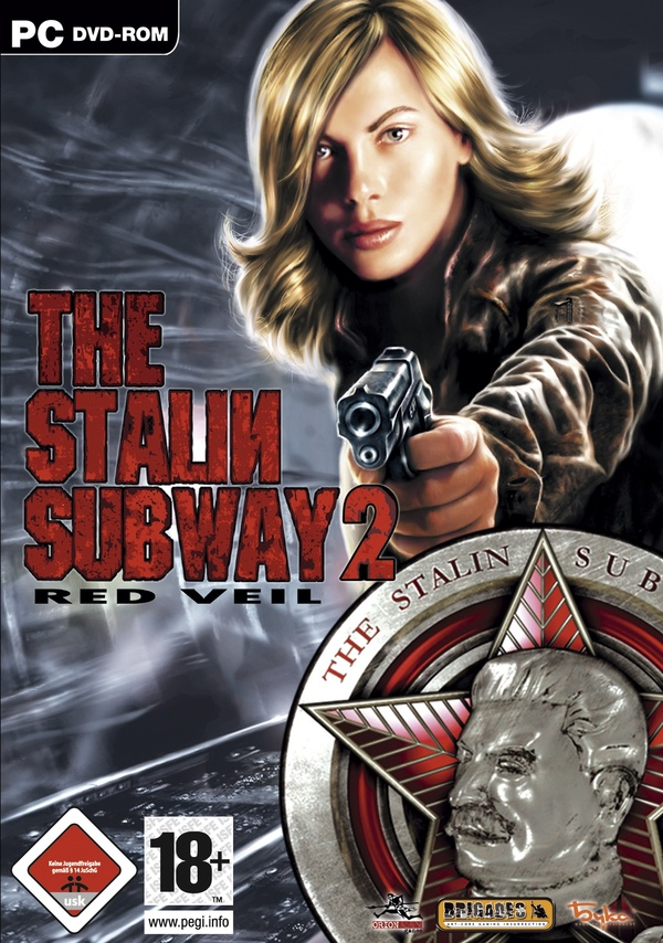 Cover zu The Stalin Subway: Red Veil