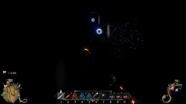 Two Worlds 2 : …geben die mageren Blitzkringel nur ein fades Licht.