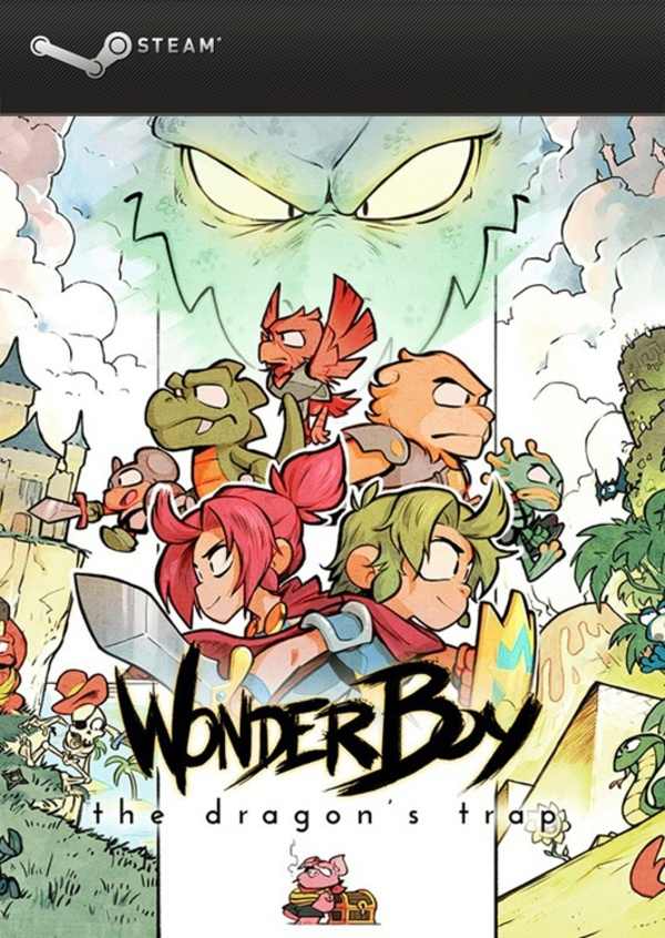 Cover zu Wonder Boy: The Dragon's Trap