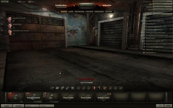 World of Tanks : Werden Sie zerstört und verlassen das Gefecht, ist ihr Panzer erst dann wieder verfügbar, wenn die Runde beendet ist. Sie können jedoch mit einem anderen Panzer in eine neue Schlacht ziehen.
