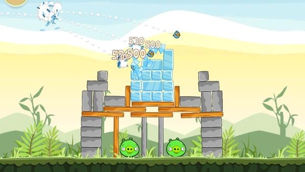 Screenshot zu Angry Birds - Screenshots