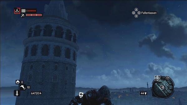 Screenshot zu Assassin's Creed: Revelations - Sehenswürdigkeiten in Konstantinopel