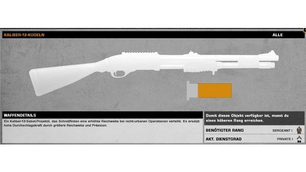 Screenshot zu Battlefield: Bad Company 2 - Alle Waffen und Erweiterungen