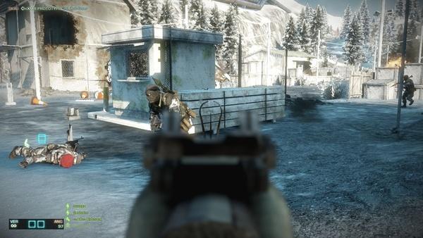 Screenshot zu Battlefield: Bad Company 2 - Hardcore-Modus im Bild