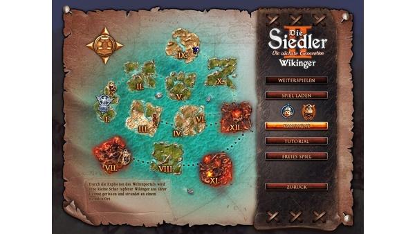 Screenshot zu Siedler 2: Die nächste Generation: Wikinger - Screenshots