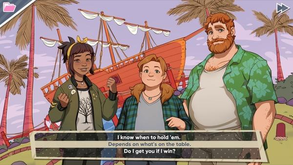 Screenshot zu Dream Daddy: A Dad Dating Simulator - Screenshots