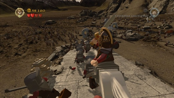 Screenshot zu LEGO Der Herr der Ringe - Screenshots