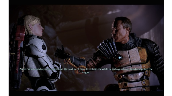 Screenshot zu Mass Effect 2 - DLC: Zaeed - Der Preis der Rache