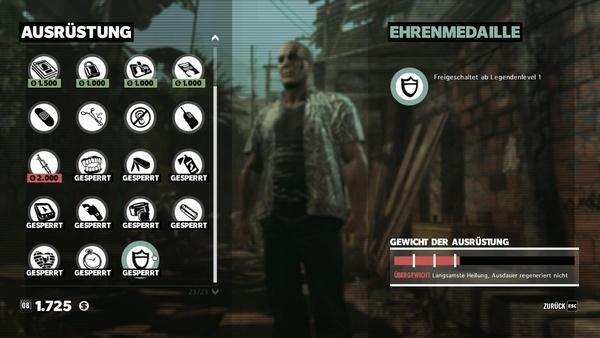 Screenshot zu Max Payne 3 - Waffen & Ausrüstung