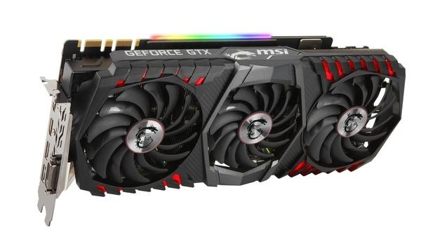 Bilder zu MSI Geforce GTX 1080 Ti Gaming X Trio - Bilder