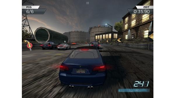 Bild der Galerie Need For Speed: Most Wanted - Screenshots der iOS-Version