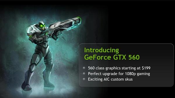 Bilder zu Nvidia Geforce GTX 560 - Hersteller-Präsentation