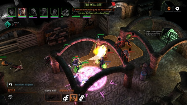 Screenshot zu Shadowrun Chronicles: Boston Lockdown - Screenshots